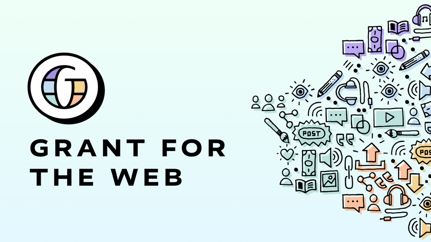 Grant for the Web's logo and graphic