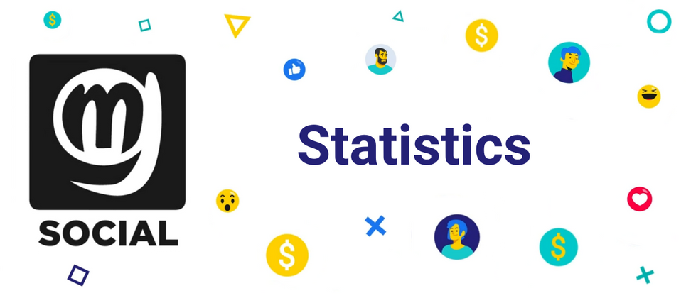 Cover image for MG.Social Statistics for August, 2021